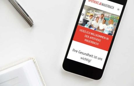 Webdesign Klagenfurt - Portfolio Apotheke Mauerbach