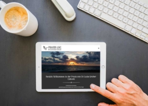 Webdesign Klagenfurt - Webdepartment Portfolio - Wordpress Webseite Praxis LGC