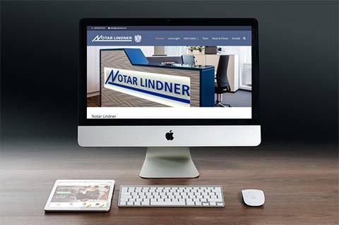 Webdesign Klagenfurt - Portfolio Notar Lindner