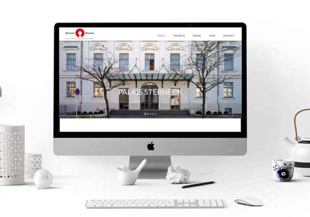 Webdesign Klagenfurt - Webdepartment Portfolio - Wordpress Webseite Architekturbüro Omansiek
