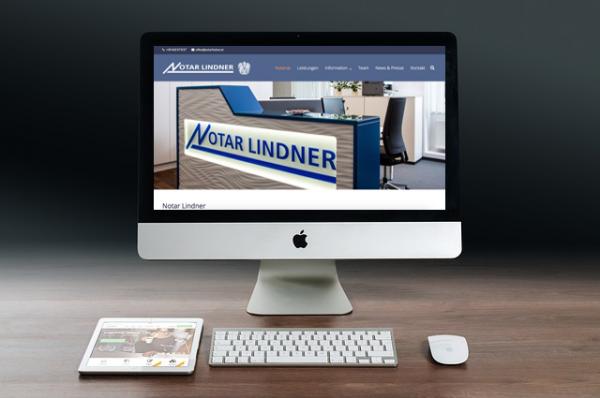 Webdesign Klagenfurt - Webdepartment Portfolio - Wordpress Webseite Notar Lindner
