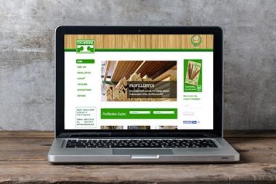 Webdesign Klagenfurt - Webdepartment Portfolio - Drupal Webseite Profilleisten Tscharre