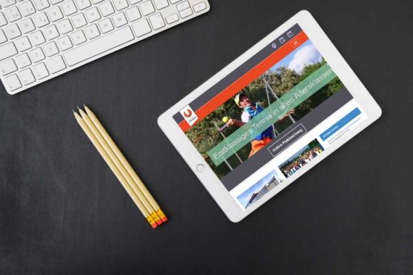 Webdesign Klagenfurt - Webdepartment Portfolio - Wordpress Webseite Sportunion Klagenfurt Tennis
