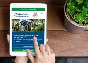 Webdesign Klagenfurt - Webdesign Agentur - Portfolio Achleitner Reinigungsservice