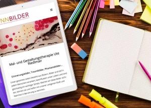 Webdesign Klagenfurt - Webdesign Agentur - Portfolio Sinnbilder Webseite auf Tablet