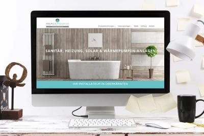 Webdepartment Webdesign Klagenfurt - Webdesign Agentur - Portfolio Webseite Zraunig Reschreiter